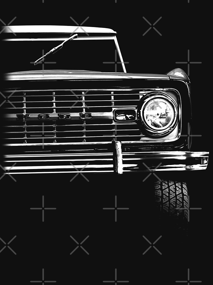 ford bronco, black shirt by hottehue