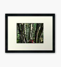 Look up to the world Framed Print