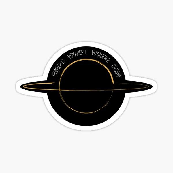 Mission: Saturn Sticker