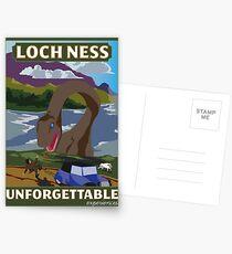 Besuchen Sie Loch Ness - Green Postkarten