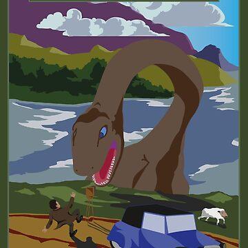 Visit Loch Ness - Green by wo0ze