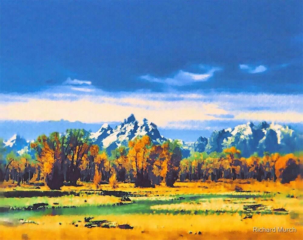 Majestic Tetons by Richard Murch