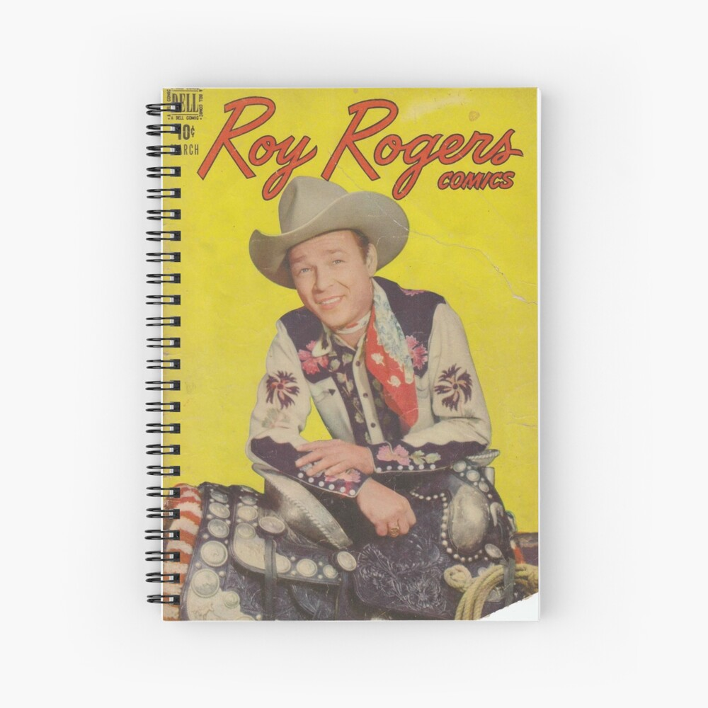 Roy Rogers  Spiral Notebook
