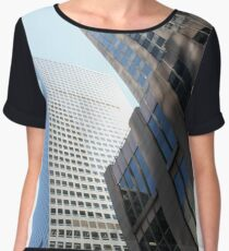 #modern #office #architecture #window #business #city #skyscraper #futuristic #reflection #sky #finance #vertical # #colorimage #wide #builtstructure #glassmaterial #constructionindustry  Chiffon Top