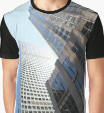 #modern #office #architecture #window #business #city #skyscraper #futuristic #reflection #sky #finance #vertical # #colorimage #wide #builtstructure #glassmaterial #constructionindustry  Graphic T-Shirt