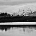 Ornsay Island Lighthouse Isle of Skye Scotland by FollowingTLites