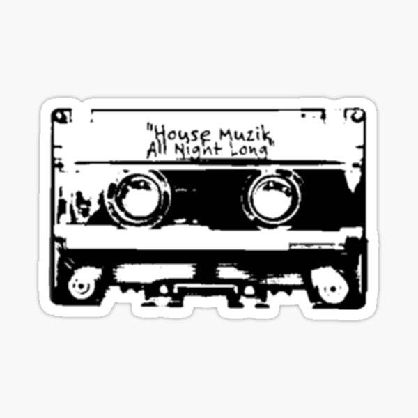 House Muzik Sticker