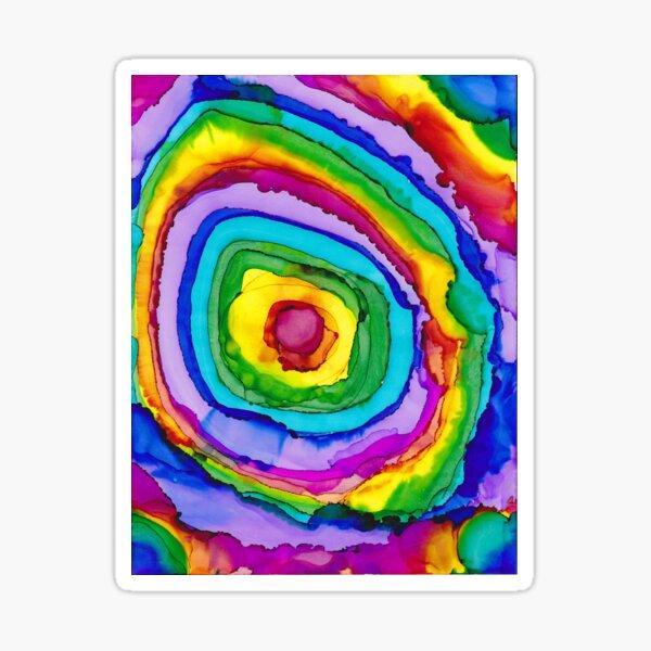 Rainbow dreams Sticker