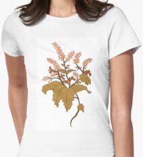 Twiggy Flower Women's Fitted T-Shirt