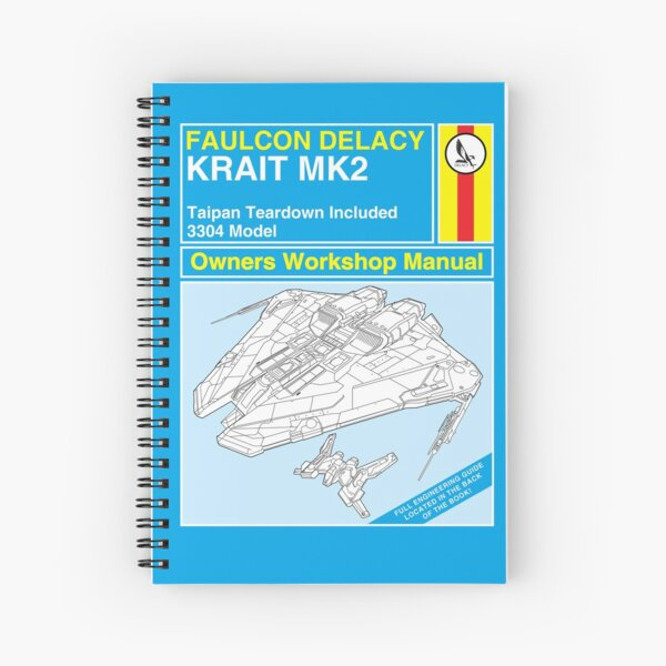 Krait Mk2 and Taipan Owners Workshop Manual Spiral Notebook