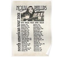 Molly Phillips Tour Poster - So Weird Poster