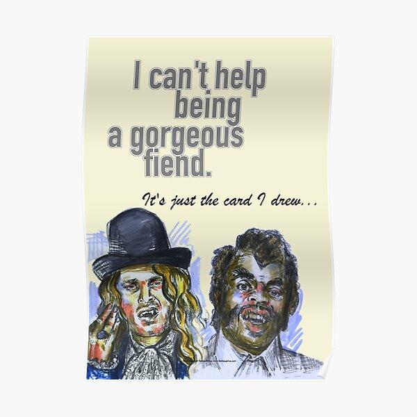 Psych - Shawn & Gus as vampires. Poster