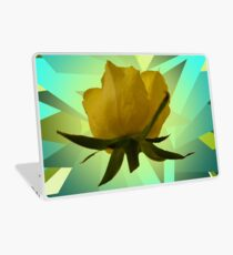 Glowing Rose Graphic Laptop Skin