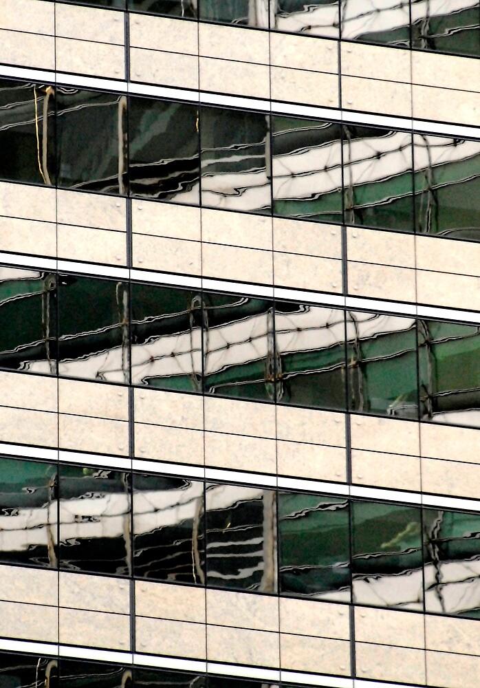 Sydney Building Reflection 47 by luvdusty