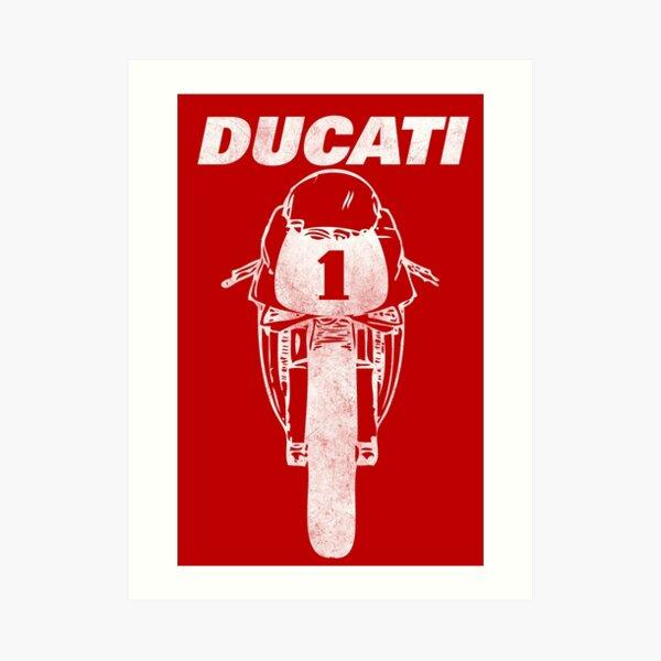 The Legendary Ducati 916 Art Print
