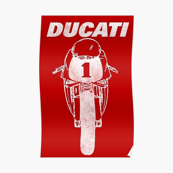 La légendaire Ducati 916 Poster