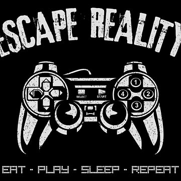 Escape Reality ~ Video Games by EddieBalevo