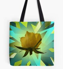 Glowing Rose Graphic Tote Bag