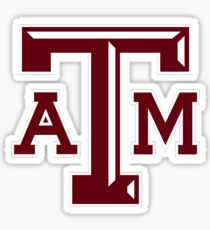 Texas A&M Aggies Logo  Sticker