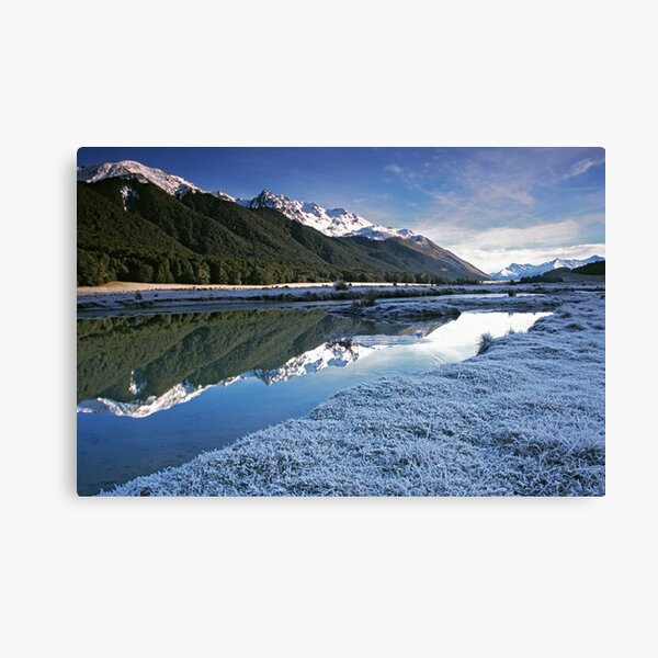 Mavora Lakes, South Island. Canvas Print