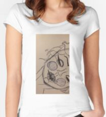 Marylin Manson Monroe Women's Fitted Scoop T-Shirt