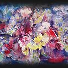 Flowers-Harmony of Reds and Yellows by Ballet Dance-Artist