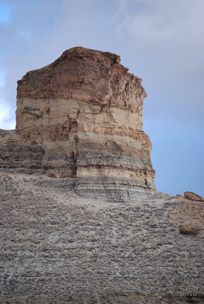 Castle Rock Green River Wyoming US 80 If you like, purchase, try a cell phone cover thanks! by zwrr16