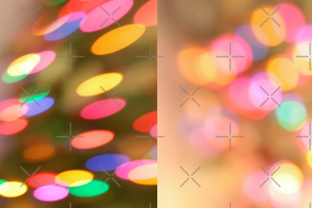 Christmas Lights Diptych by PhOtOgaljan