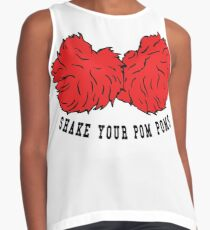 Cheer Shake Your Pom Poms Contrast Tank