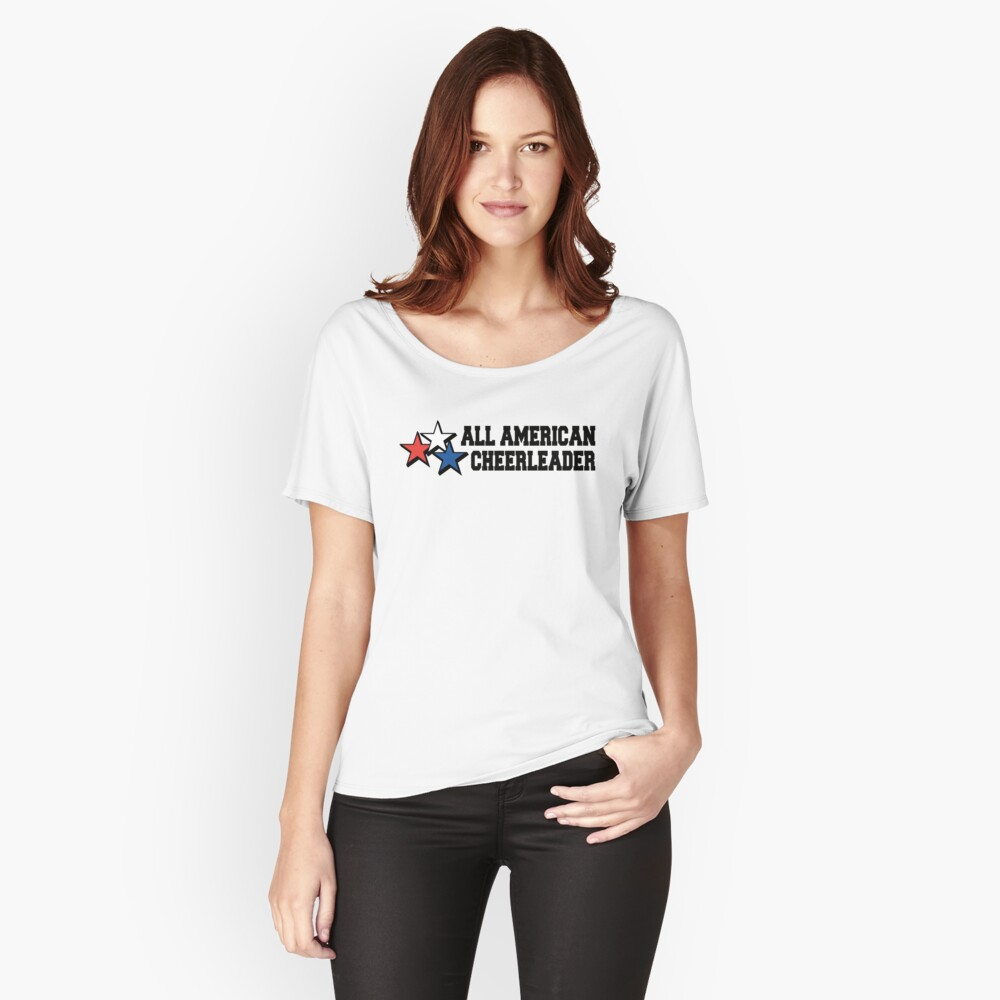 Cheerleader Women's Relaxed Fit T-Shirt Front