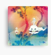 Kids See Ghosts (Ultra High-Res) Canvas Print
