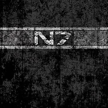 N7 Mass Effect Distressed Logo by -monkey-