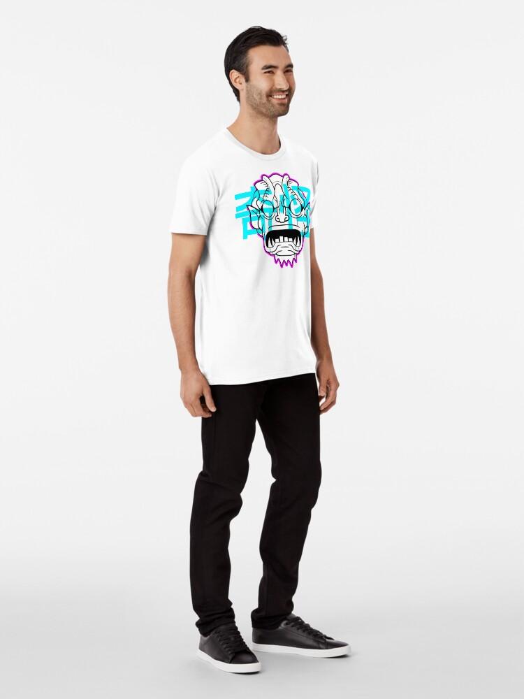 Alternate view of Gorgon Katakana Premium T-Shirt