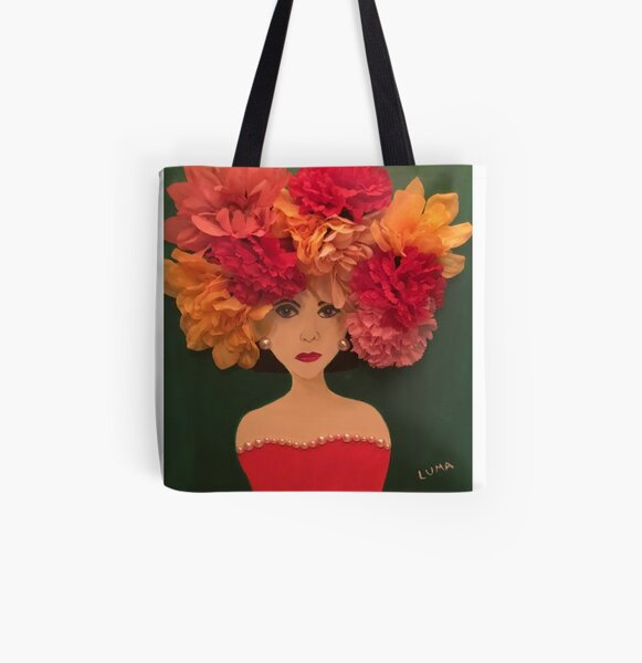 Diva All Over Print Tote Bag