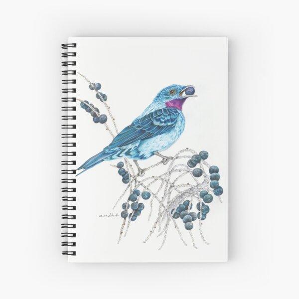Natterer's Cotinga Spiral Notebook Spiral Notebook