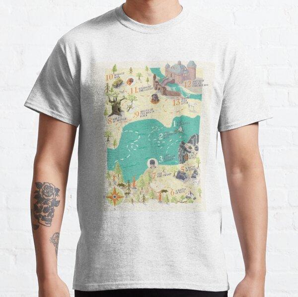 Princess Bride Discovery Map Classic T-Shirt
