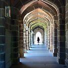 Portal To Knowledge Melbourne University Victoria by Deirdreb