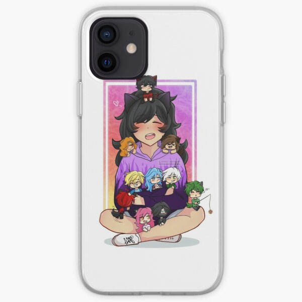 Aphmau and friends iPhone Soft Case
