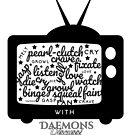 'Creature Binge Watch' for those who aren't fans of black clothing ... (why?!) by DaemonsDiscuss