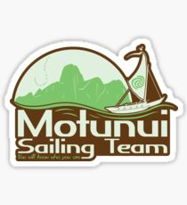 Motunui Sailing Team Sticker