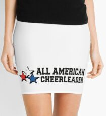 All American Cheerleader Mini Skirt