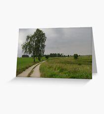 an unbelievable Poland landscape Greeting Card