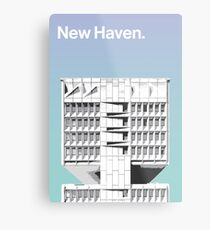 New Haven architecture - Armstrong Rubber Company Metal Print