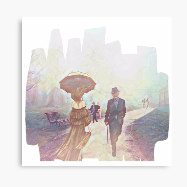 Relax and Walk With Leonard  Canvas Print