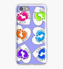 NICU Nurse Baby Feet iPhone Case/Skin