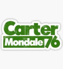 Carter Mondale 76 Sticker