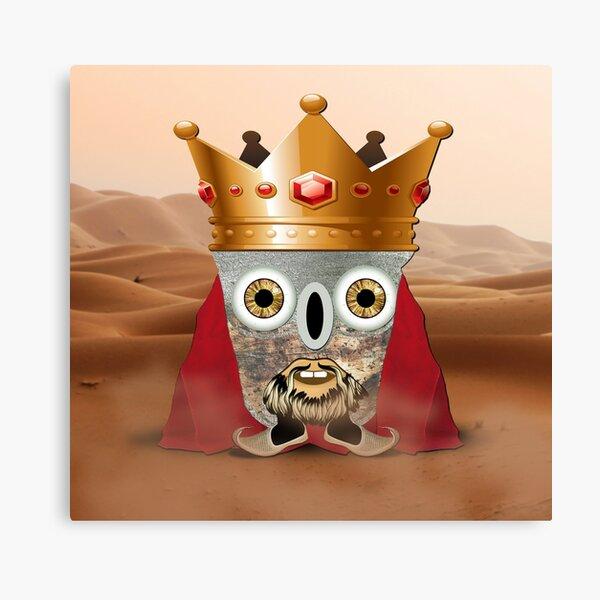 Arthur - The Little Emperor Of The Sands Canvas Print