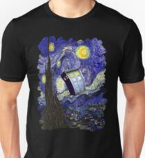 Tardis Starry Night T-Shirt