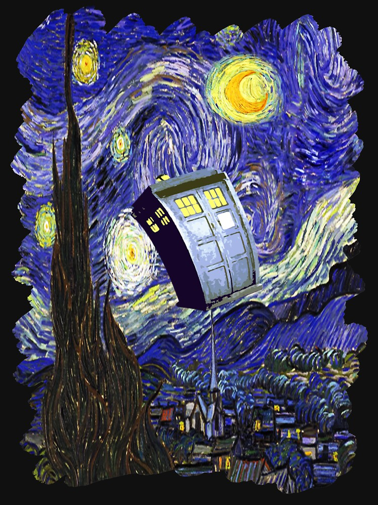 Tardis Starry Night | Unisex T-Shirt