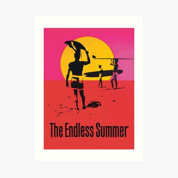 Endless Summer, 1966 Surf Sport Documentary Poster, Artwork, Prints, Posters, Tshirts, Men, Women, Kids Art Print